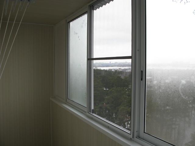 Сетка на окна на балкон